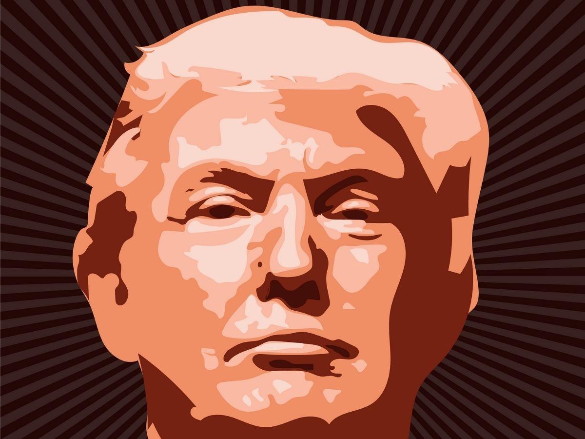 donald-trumpの肖像画